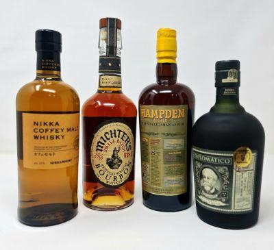 Rum vs Whisky Tasting Wednesday 10th November 2021