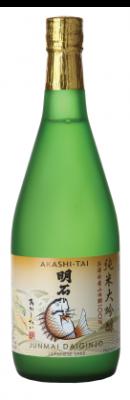 Akashi Tai Junmai Daiginjo Sake 720ml-17%