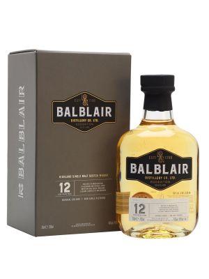 Balblair 12 Year Old Single Malt Whisky 70cl 46%