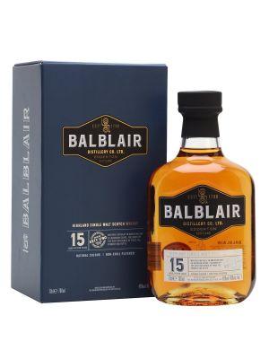 Balblair 15 Year Old Single Malt Whisky 70cl 46%