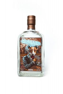 Baller Vodka by Doghouse 70cl
