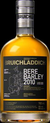 Bruichladdich Bere Barley 2010 70cl 50%
