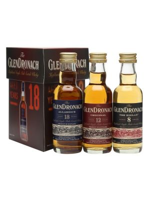 The GlenDronach Tri Pack Miniatures