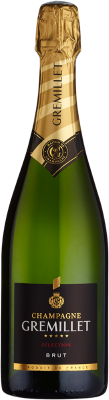 Gremillet Brut Selection Champagne 75cl