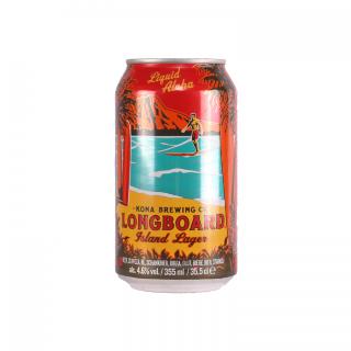 Kona Brewing Co. Longboard Lager Can 35.5cl
