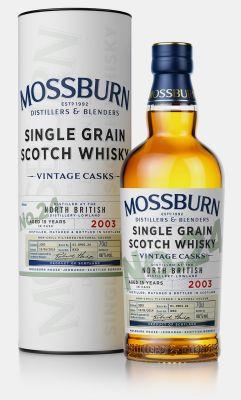 Mossburn Whisky No24 North British 15YO Lowland