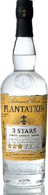 Plantation White Rum 3 star 70cl