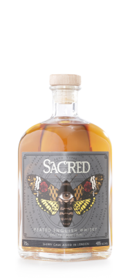 Sacred Peated English Whisky 70cl 48%