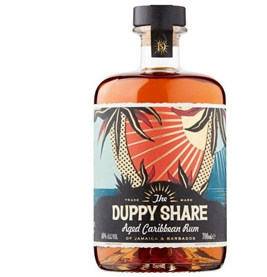 The Duppy Share Rum 70cl 40%