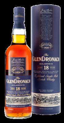 The Glendronach 18 year old Allardice, 46%vol
