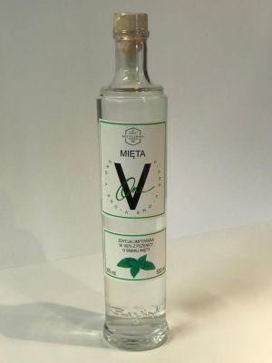 V-One Vodka Peppermint (Mieta) 50cl