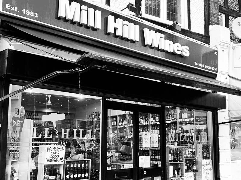 Mill Hill Shop Front