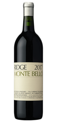Ridge Monte Bello 2017