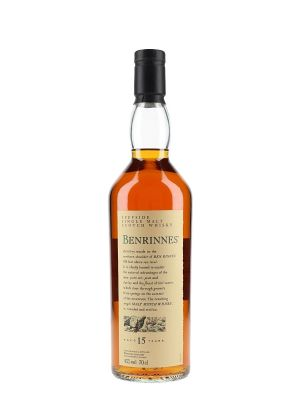 Benrinnes 15 yo Flora and Fauna Speyside 700ml-43%