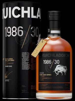 Bruichladdich Old & Rare 1986 30 Year 70cl 44.6%