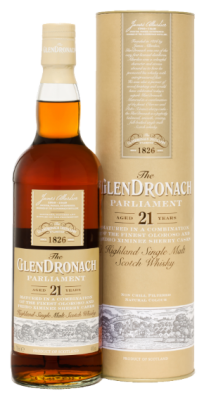 The Glendronach 21 year old Parliament, 48%vol