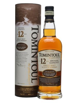 Tomintoul 12 Year Old Oloroso Finish 70cl 40%