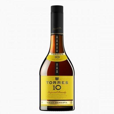 Torres 10 Gran Reserva Brandy 75cl 38%